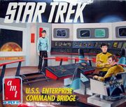 AMT Model kit 6007 USS Enterprise Bridge 1991