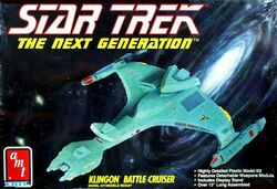 AMT Model kit 6812 Klingon Battle Cruiser 1992