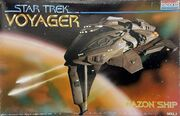 Revell Model Kit 3606 Kazon Ship 1995