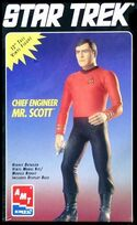 AMT Model kit 8777 Chief Engineer Mr.Scott 1995
