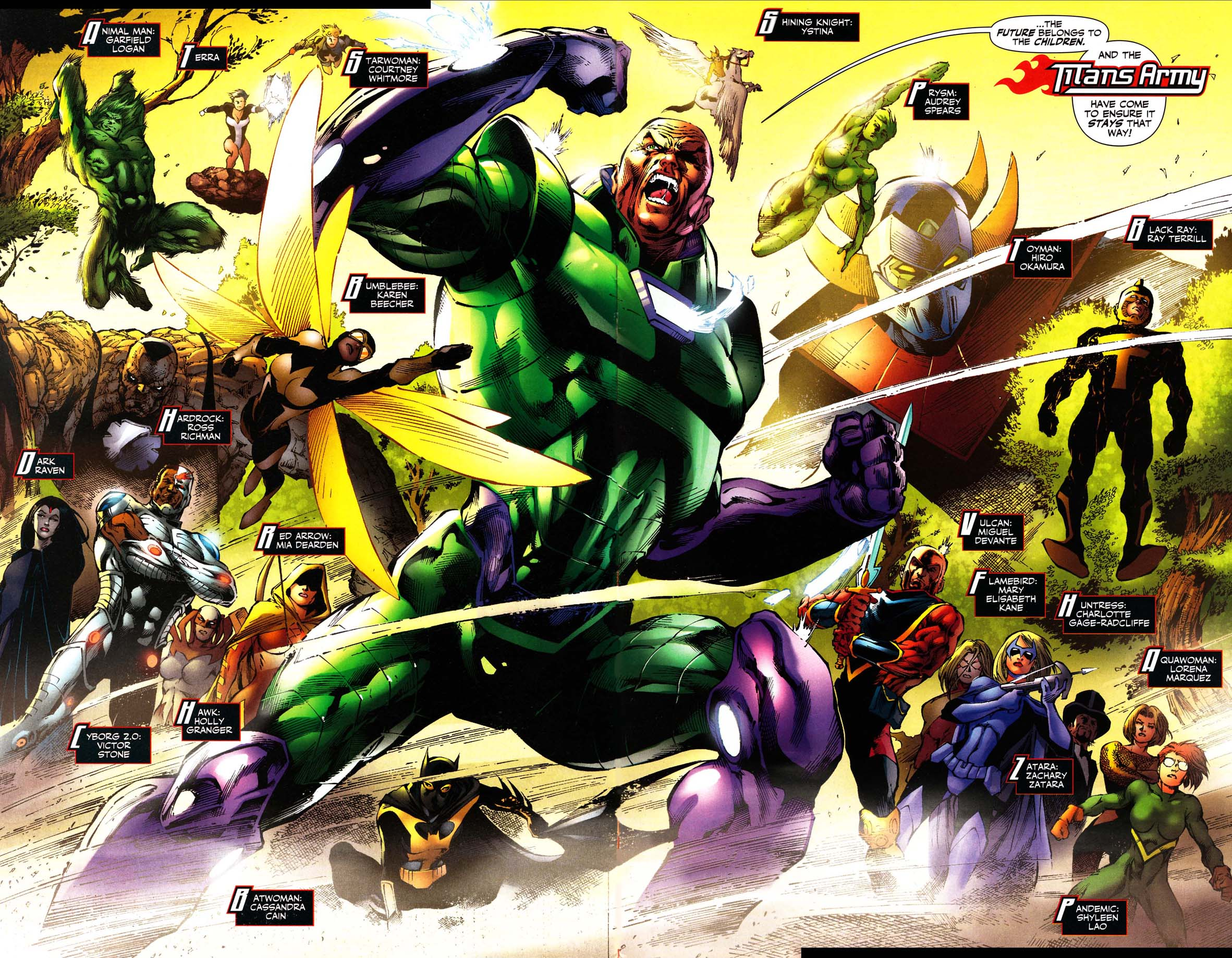 Featured on:Teen Titans (53), Titans Army