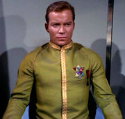 James Kirk, dress uniform