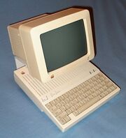 Apple IIc top view