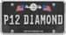 Diamond License Plate