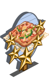 Pizza Bread 5 Star Mastery Sign-icon