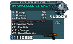 TMP-V3 Cold Stalker OBYC