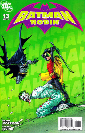 Cover for Batman and Robin #13