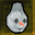 Snowman Mask with Fez Icon