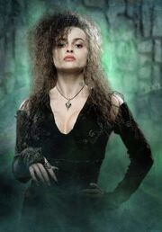 Helena Bonham Carter jako Bellatrix Lestrange