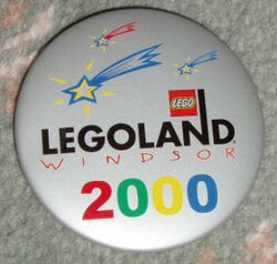Pin20 Legoland Windsor - 2000