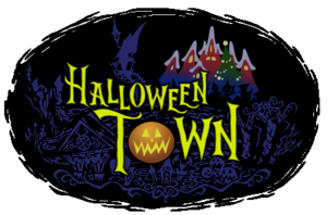Halloween Town Logo KHII