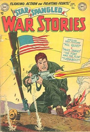 Cover for Star-Spangled War Stories #17