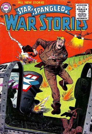 Cover for Star-Spangled War Stories #39