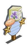 Iris Soap 2 Star Mastery Sign-icon