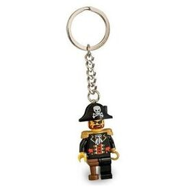 852544-Captain Brickbeard Key Chain