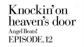 Angel Beats Ep 12