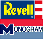 Revell Monogram old logos