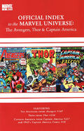 Avengers, Thor &amp; Captain America Official Index to the Marvel Universe Vol 1 5