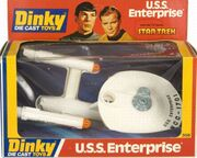 Dinky Toys No.358 USS Enterprise Diecast bubblepack 1977