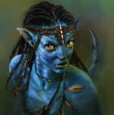 Neytiri Avatar by mrDExArts-e1282586012578-992x1003