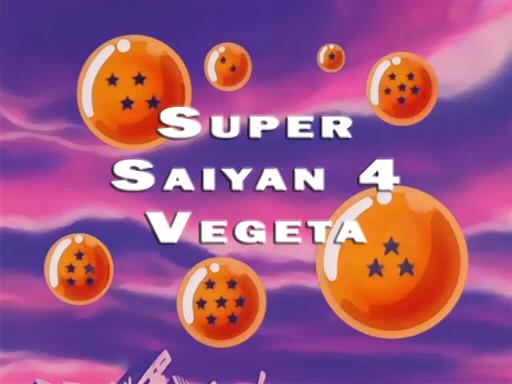 vegeta en super saiyan 4: