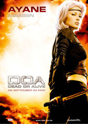 DOA Movie Promo Ayane