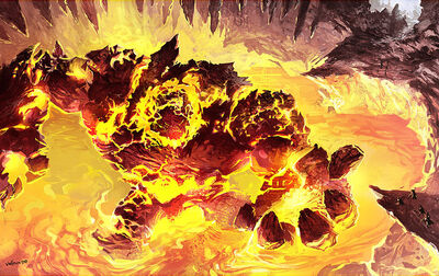 Dimensional Clash V: The OOC.  We're back!  We're looking for new players, don't worry, we'll get you up to speed.  - Page 15 400px-Gehenna_The_Fire_Elemental_Boss