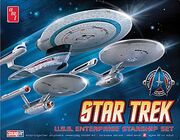 AMT Model kit AMT660 3-piece USS Enterprise Set 2010