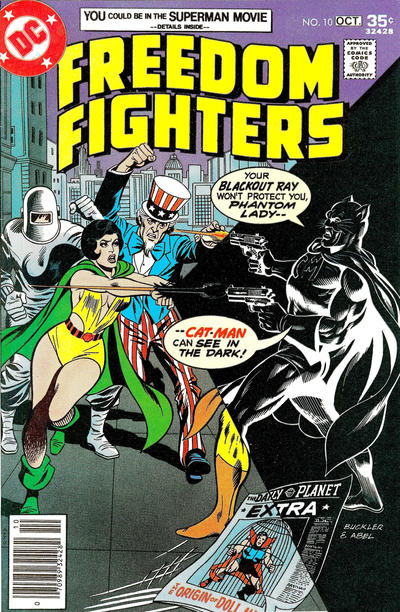 Cover for Freedom Fighters #10