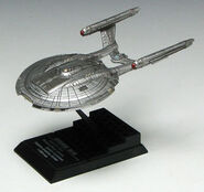 F-Toys USS Enterprise-NX model