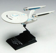 F-Toys USS Enterprise refit model