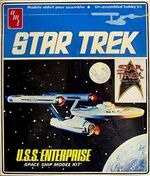 AMT Model kit 6676 USS Enterprise 1984