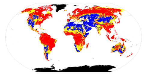 Worldwide soil pH