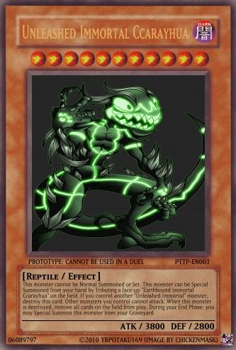 Unleashed Immortal Ccarayhua Yu Gi Oh Card Maker Wiki