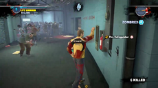 Dead rising 2 intro corridor fire extinguisher taking