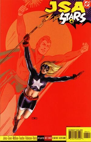 Cover for JSA: All Stars #4