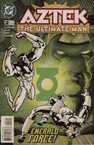 Cover for Aztek: The Ultimate Man #2