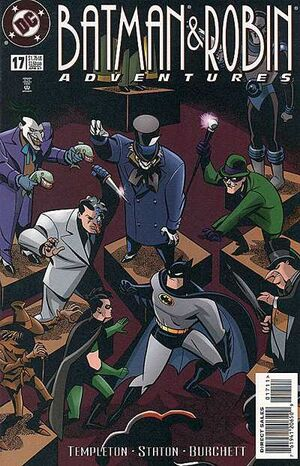 Cover for Batman & Robin Adventures #17