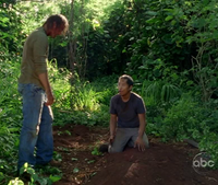Sawyer &amp; Miles over Juliet&#39;s grave