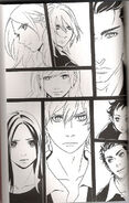 Twilight manga cullan family