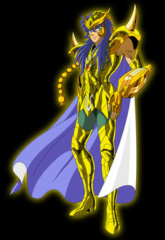 Personality ... MBTI Enneagram Scorpio Milo (Saint Seiya) ... loading picture