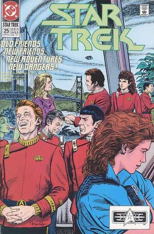 Cover for Star Trek #25