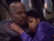 Sisko and Kasidy