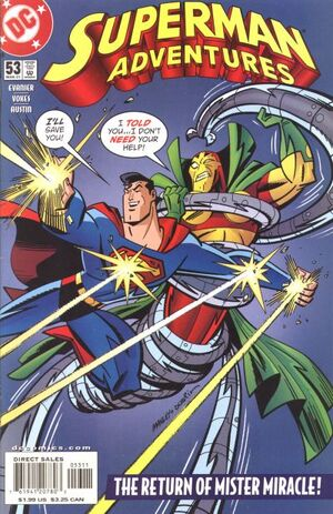 Cover for Superman Adventures #53