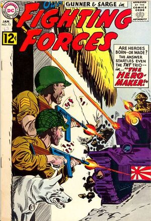 Cover for Our Fighting Forces #73