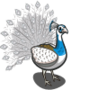 Pied Peacock-icon