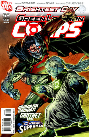Cover for Green Lantern Corps #52