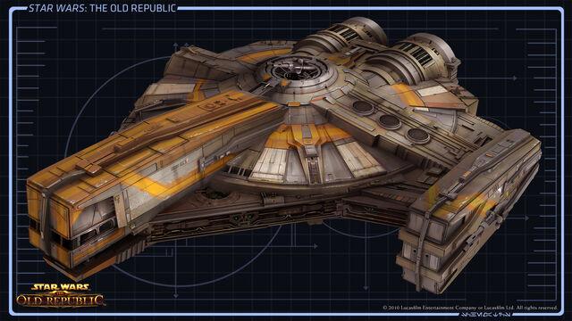 1. Planos de Naves Pequeñas. 640px-CA_Smuggler_Ship01_full