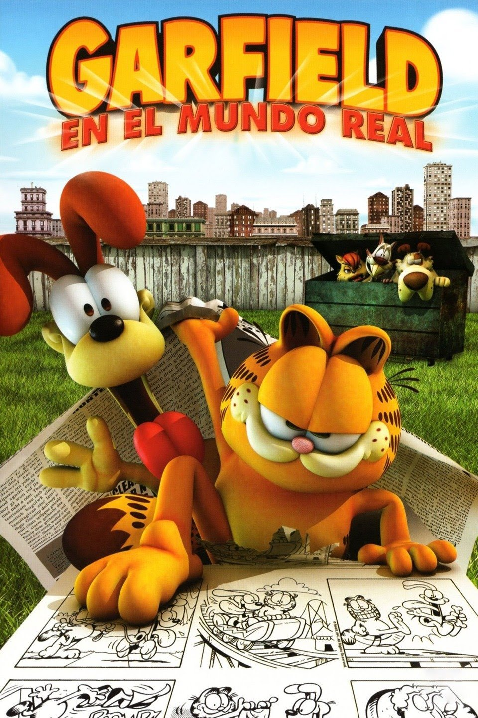 Garfield En el Mundo Real