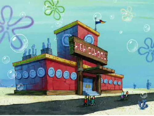 bikini bottom buildings - photo #21